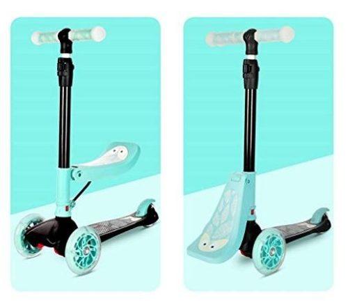 Monopatin Scooter 3 En 1 De Lujo Con Asiento Extraíble