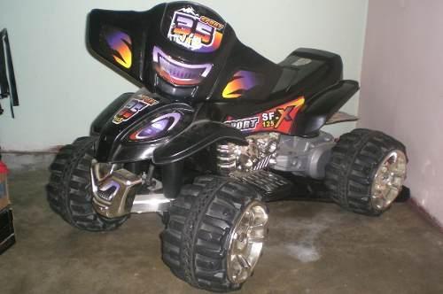 Moto 4 Ruedas De Bateria Para Niño Sf Sport (usada)