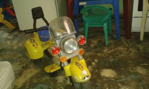 Moto De Bateria Para Niño Sin Cargador