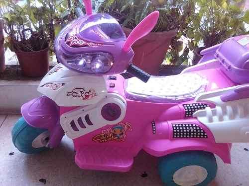 Moto Electrica Para Niñas Tiipo Ninja