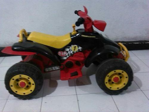 Moto Peg Perego 4 Ruedas Con Bateria Mala