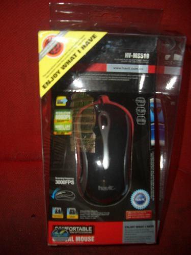 Mouse Optico Marca Havic Importado