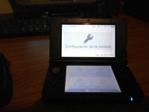 Nintendo Ds 3d Xl Como Nuevo