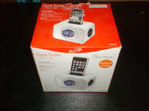 Radio Reloj Con Dock Para Ipod E Iphone Leer Descripción.