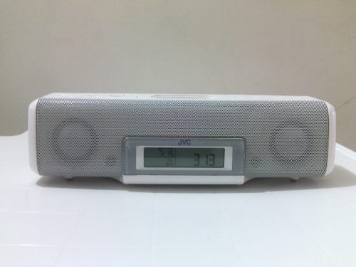 Radio Reloj Jvc Reproductor De Iphone Y Ipod Modelo: Ra-p50w