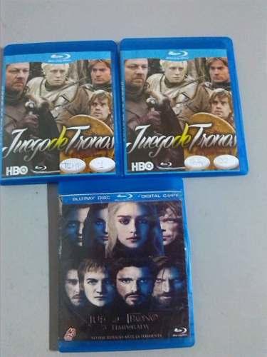 Serie Juegos De Tronos - Game Of Thrones Temp 1,2,3 Blu Ray