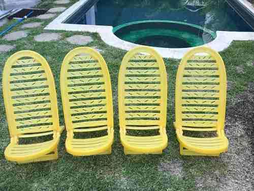 Sillas Plásticas Para Jardín O Playa.