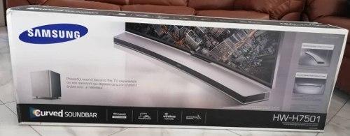 Sistema De Barra De Sonido Curvo Samsung Hw-h