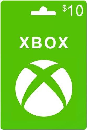 Tarjeta De Regalo Xbox De 10