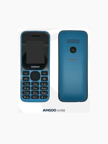 Telefono Basico Doble Chip Amgoo Am88 B1 Liberado
