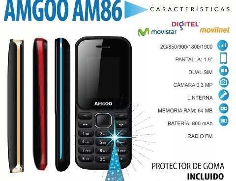 Telefono Celular Basico Ammgo Am86 Liberado