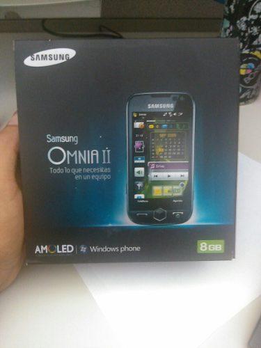 Telefono Celular Basico Samsung Tactil Omnia 2 Internet Nuev