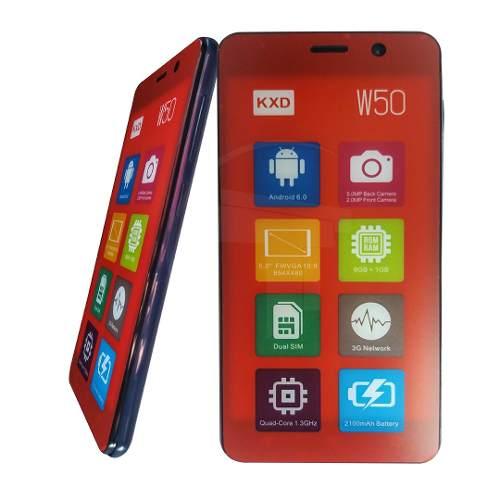 Teléfono Celular Android Dual Sim Kenxinda Kxd W50 Azul Tt