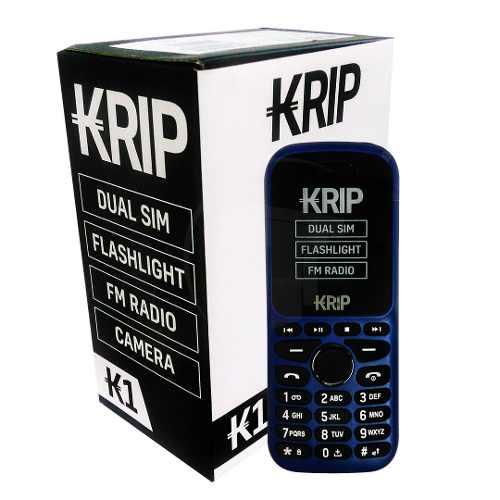Teléfono Celular Dual Sim Krip K1 Azul Tt