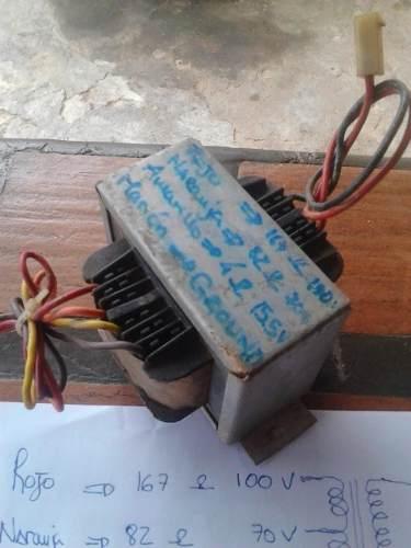Transformador Elevador Para Salidas De Amplificador.