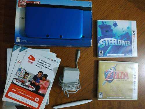 Vendó O Cambió Nintendo 3ds Xl + 2 Juegos Originales