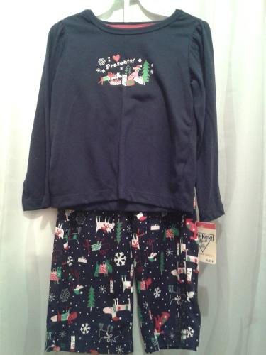 Vendo Pijama De Navidad Niña Original Oshkosh Talla 4 Años