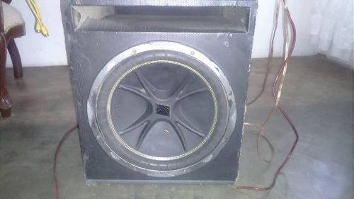 Vendo Sonido Para Carro Bajo 12, Medios, Planta Dhd w