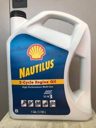 Aceite 2 Tiempos Y Fuera De Borda Shell 100% Importado Usa