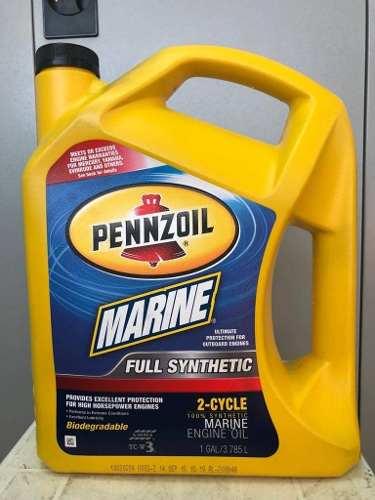 Aceite Full Sintetico Fuera De Borda 100% Importado Usa