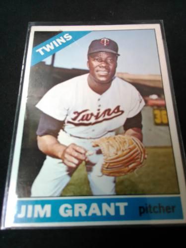 Jim Grant Topps  De Pocos Negros Con + De 20 Ganados