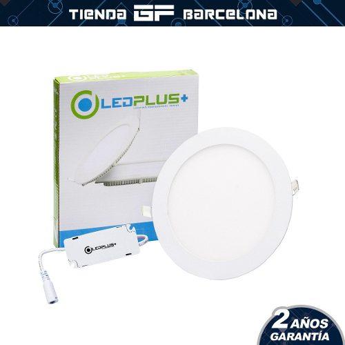 Lampara Led Panel 3w Spot Ojo De Buey Empotrar Ledplus