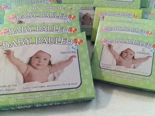 Pañales De Tela Baby Pauled 100% Algodon Calidad Curity