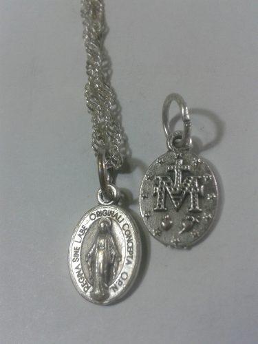 306 Se Vende Medalla De La Milagrosa T.m Mini En Alpaca
