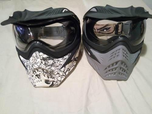 Careta Mascara De Paintball Marca V Force