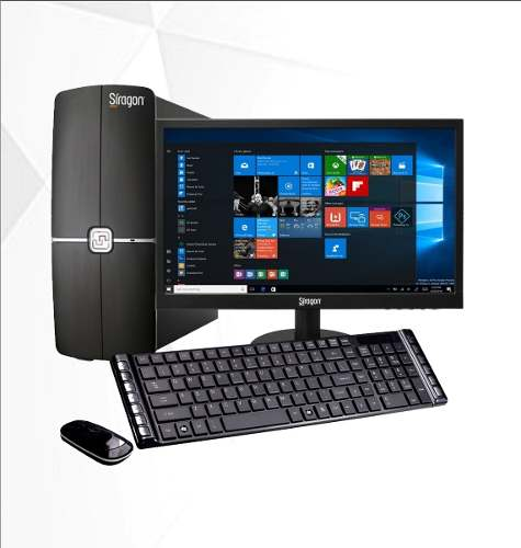 Computador Core I3 4g Ram 500 Disco Duro + Monitor Siragon