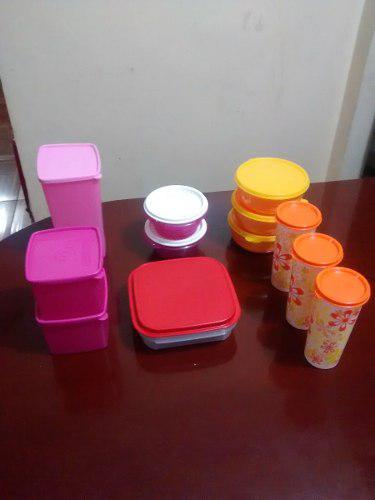 Envases Tupperware,ensaladeras,vasos,potes De Cocina,y Otros