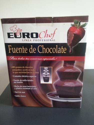 Fuente Chocolate Eurochef