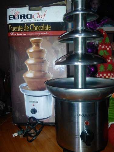 Fuente De Chocolate 4 Niveles Eurochef