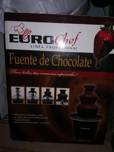 Fuente De Chocolate Eurochef Nueva En Su Caja