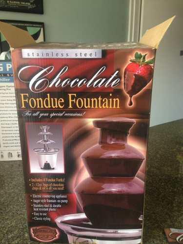 Fuente De Chocolate Fondue Fountain