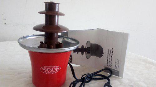 Fuente De Chocolate: (Fondue Fountain) A Estrenar.