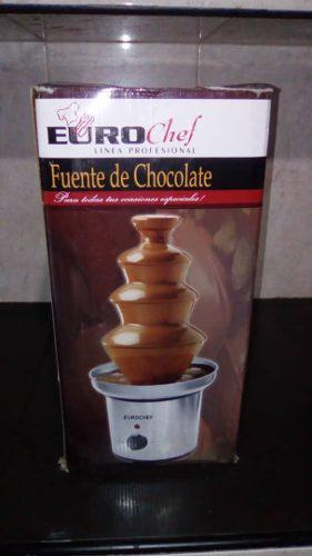 Fuente De Chocolate Marca Eurochef 4 Niveles. Un Solo Uso