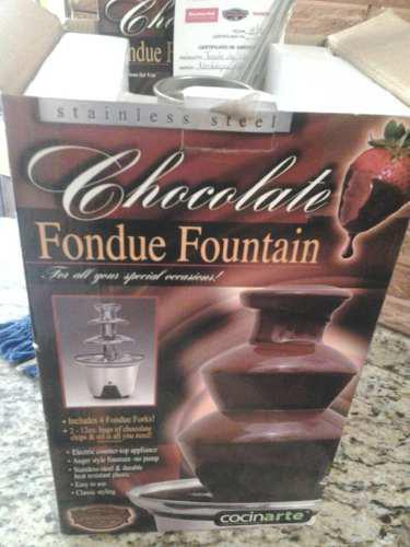 Fuente De Chocolate Usada