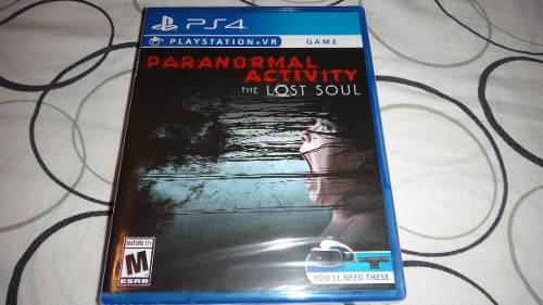 Juego Ps4 Vr Paranormal Activity The Lost Soul Nuevo