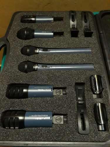 Kit De Percusión Audio Technical Como Nuevo Poco Uso !!