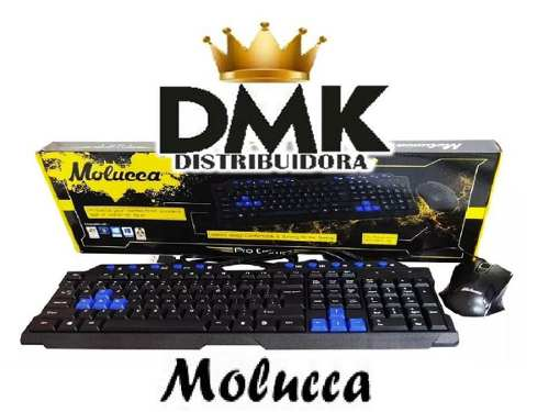 Kit Teclado Gamer Y Mouse Molucca Usb