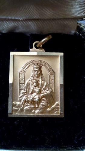 Medalla Virgen De Coromoto Oro 18 Kl 7.2 G)
