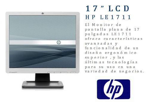 Monitor Hp 17 Pulgadas Lcd En Su Caja Laschimeneas
