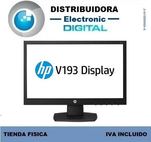Monitor Hp V193b Led 18,5 Pulgadas