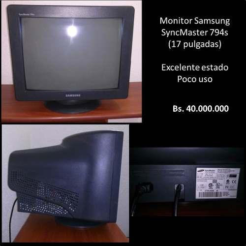 Monitor Samsung 17 Pulgadas Usado En Buen Estado