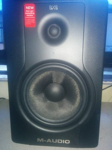 Monitores De Estudio M Audio Bx8d2
