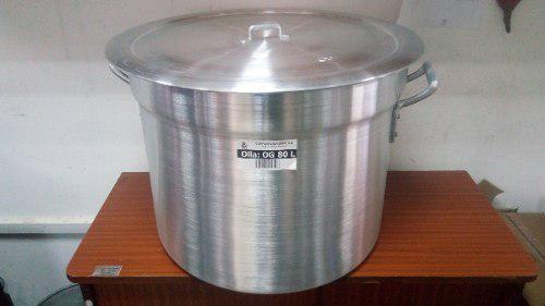 Olla Zenit Aluminio Fuerte 80 Litros
