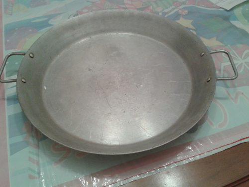 Paellera De Aluminio Curada