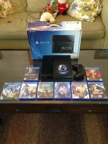 Playstation 4 Ps4 1 Control Y 9 Juegos