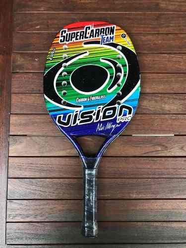 Raqueta De Beach Tennis Vision Super Carbon Team